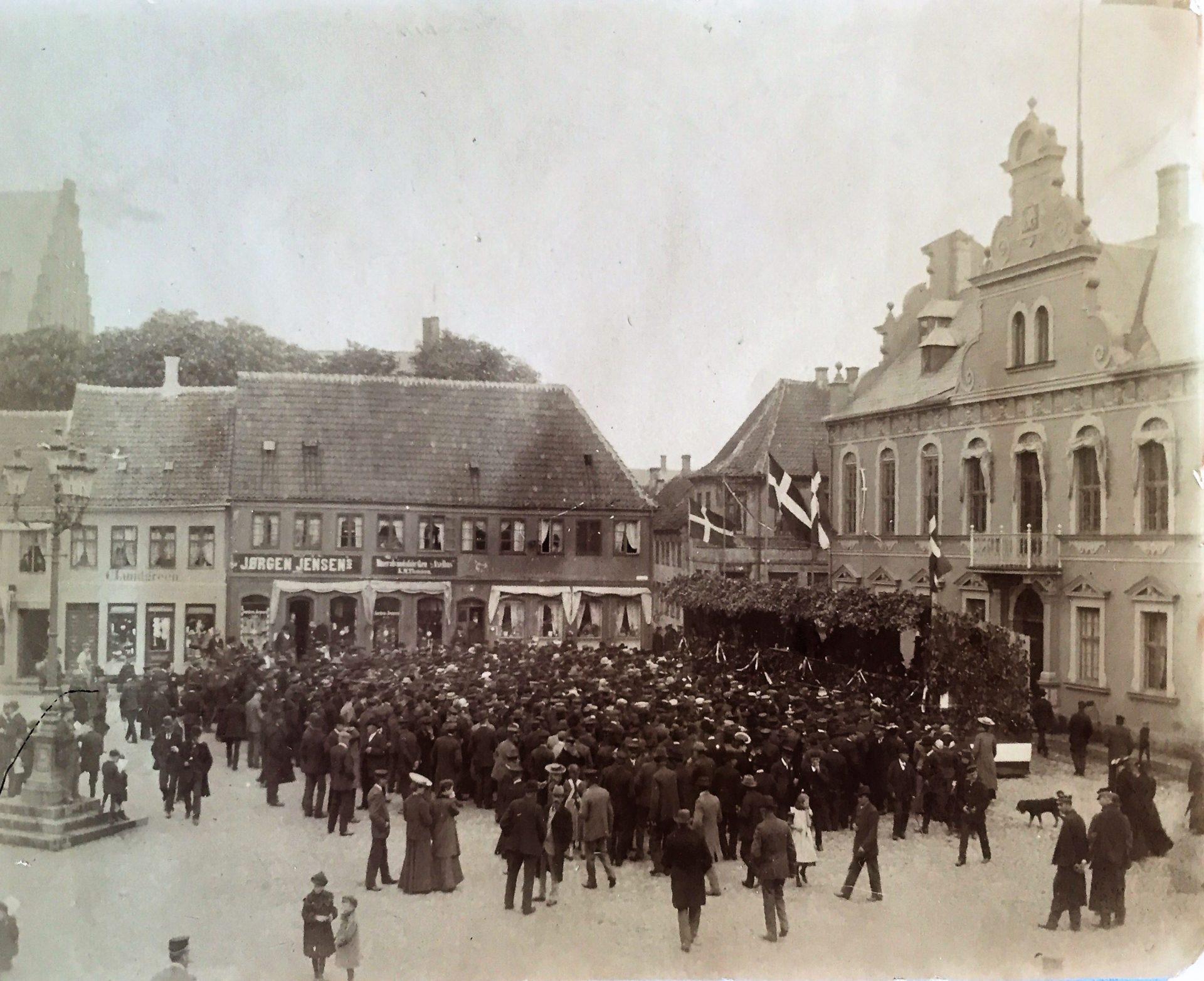Folketingsvalg på Axeltorv i 1906