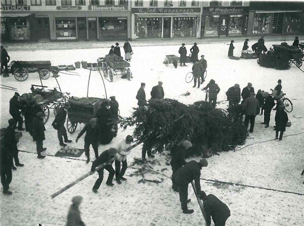 Juletræet på Axeltov i 1930