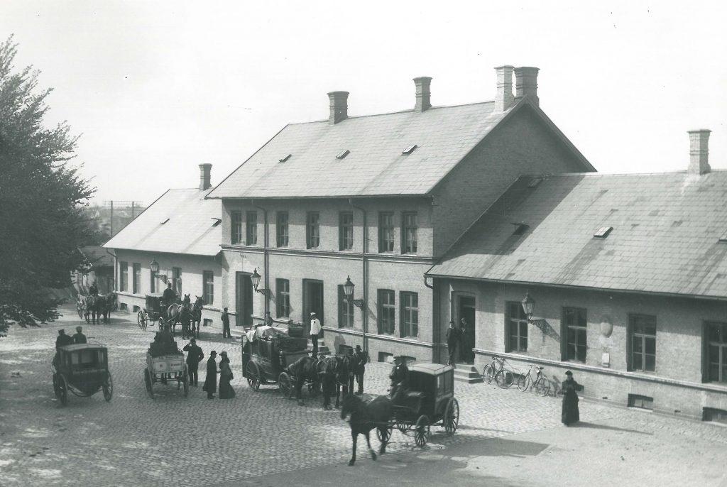 Nakskov Station ca. 1900