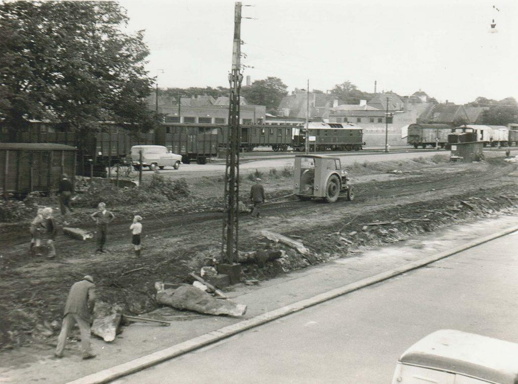 Nedlæggelse af Nakskov-Rødby Jernbane 1953