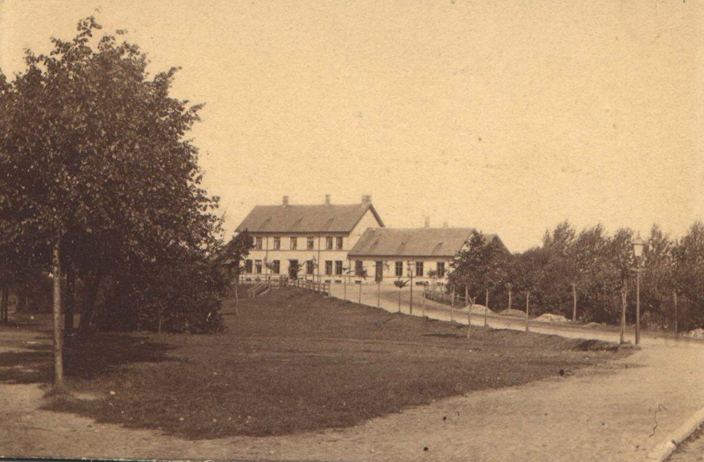 Nakskov Station ca. 1890