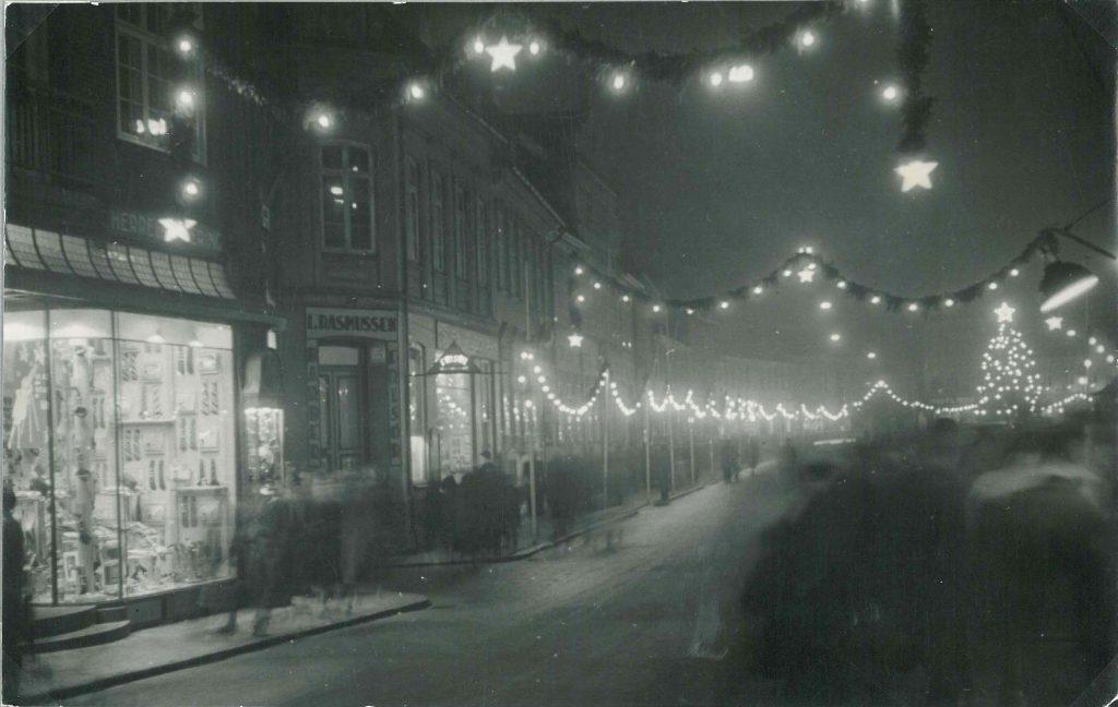 Juletravlhed i Nakskov 1947