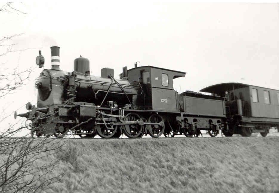 Tog fra Nakskov-Kragenæs Jernbanen