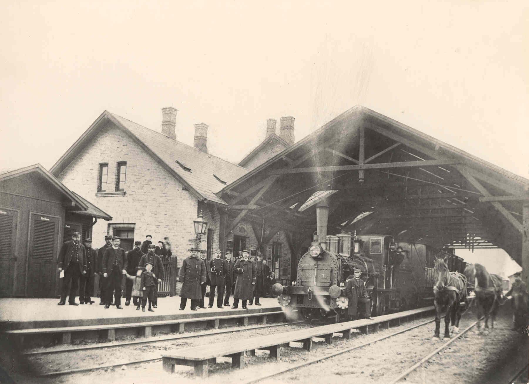Nakskov Station 1890