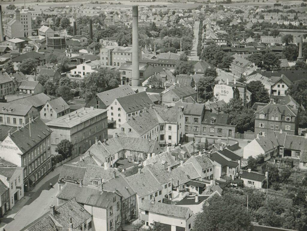 Gåsetorvet ca. 1940