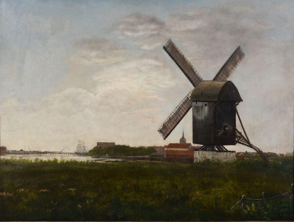 Maleri af Nakskov