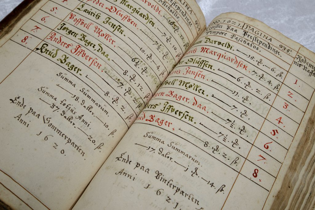 En side i bogen