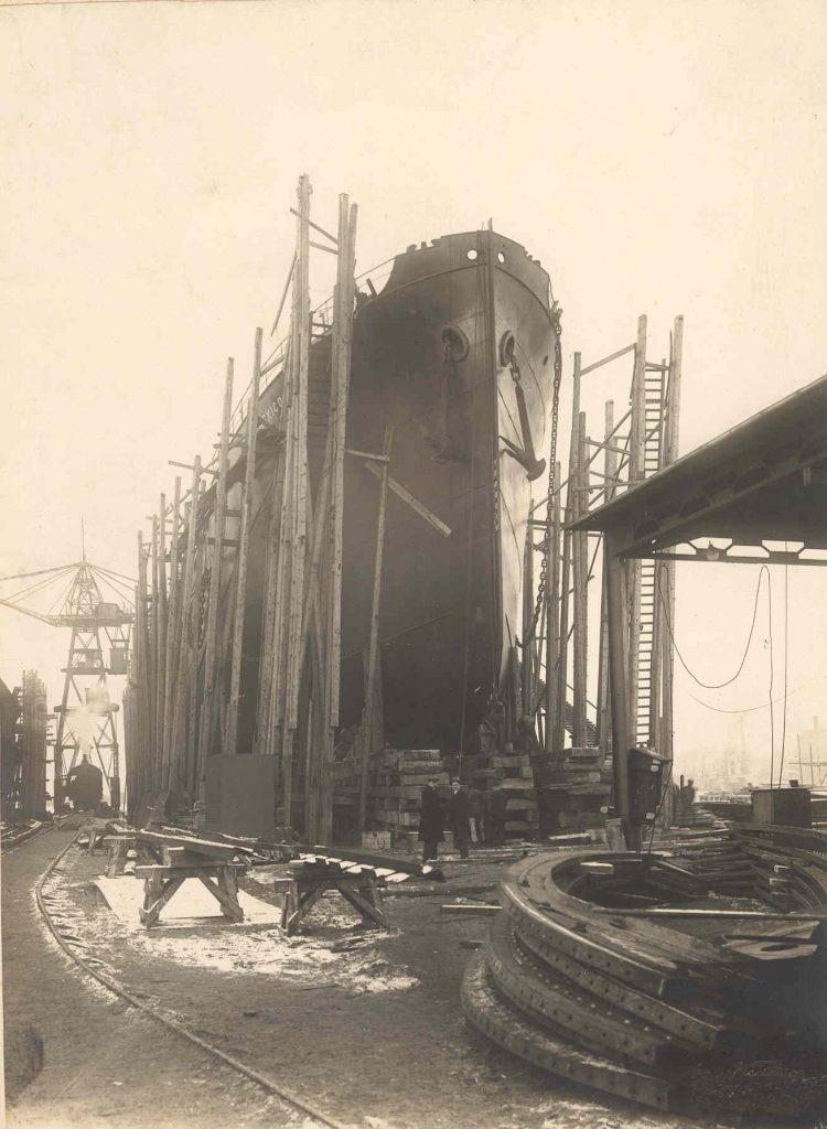 Nybygning nr. 1 Mexico 1920