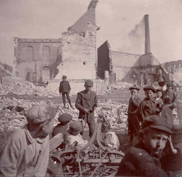 Tuxen og Hammerich's virksomhed efter en brand i 1905