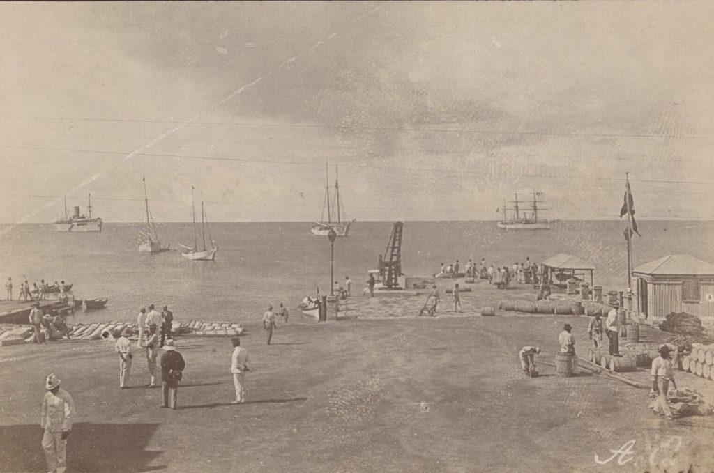 Havnen i Frederiksted