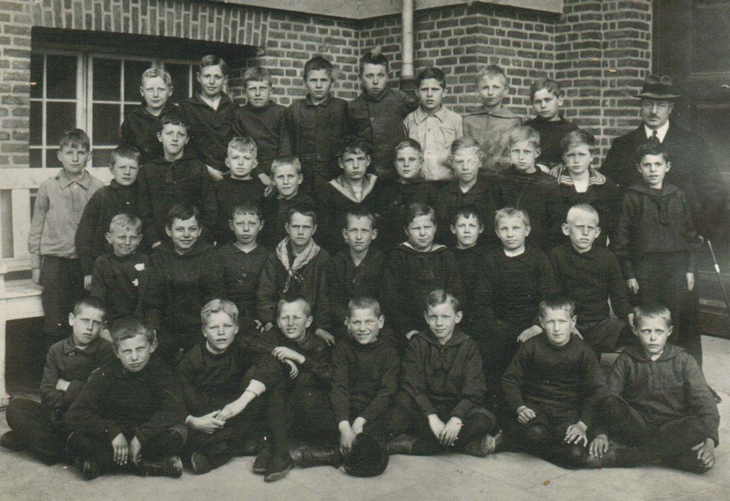 Hilmar Wulffs klasse på byskolen
