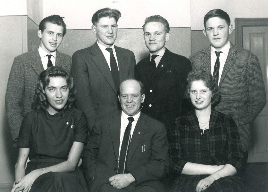 DSU Nakskovs bestyrelse 1959.