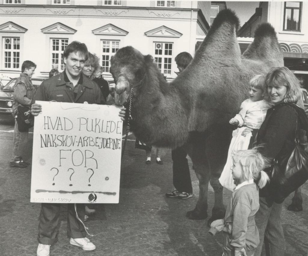 DSU demonstration på Axeltorv