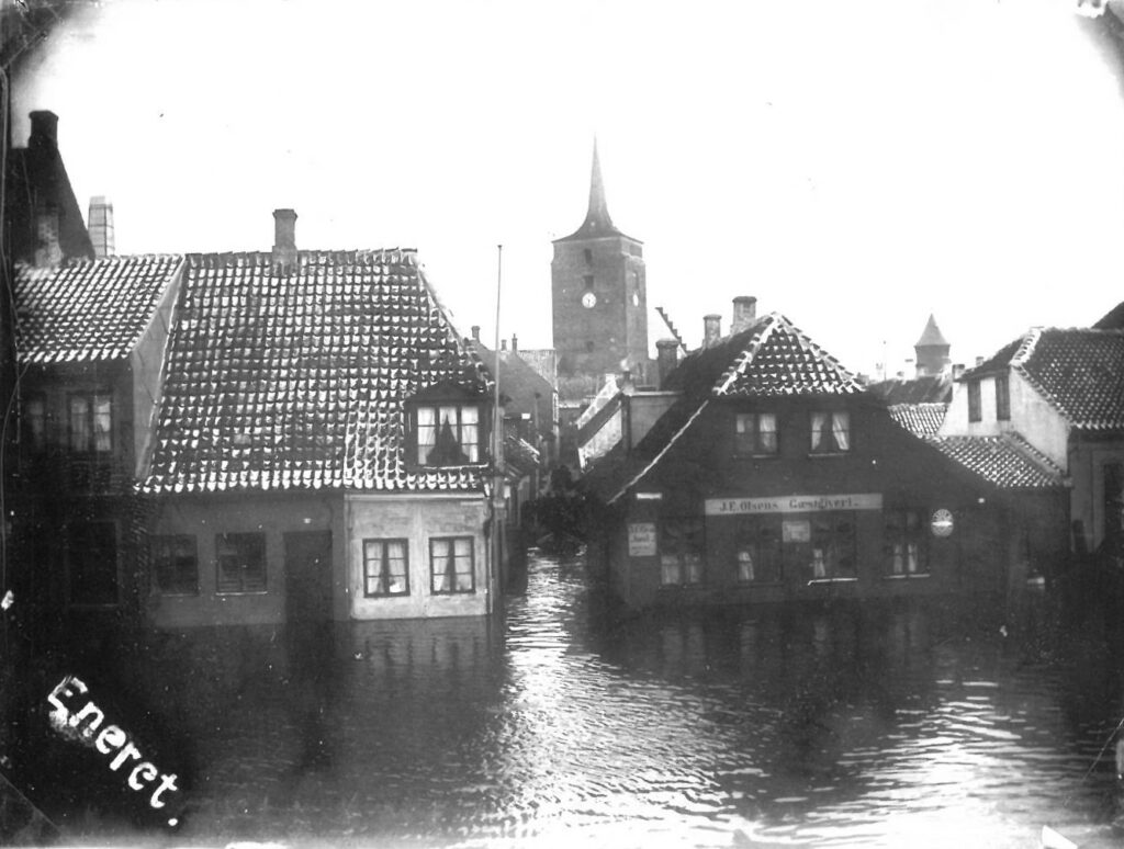 Oversvømmelse i Nakskov i 1904