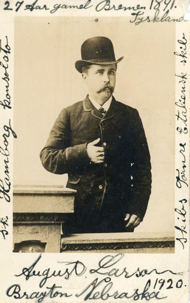 Hans August Larsen ca. 1891