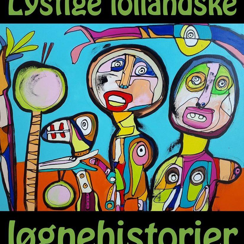 Forsiden af Lystige lollandske løgnehistorier