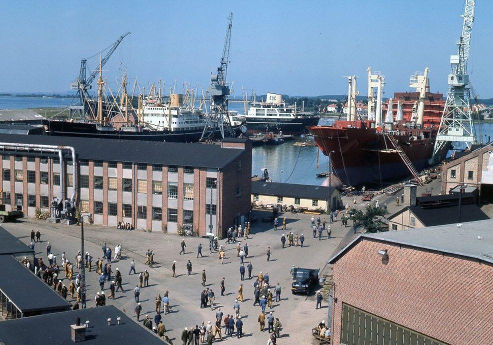 Nakskov Skibsværft 1970