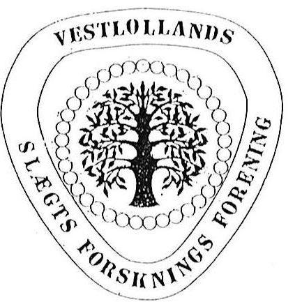 Logo Vestlollands Slægtsforskningsforening